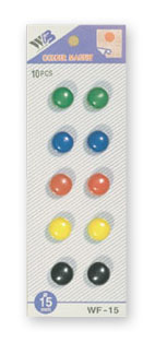 sada magnetů WF mix průměr 15 mm, 10ks