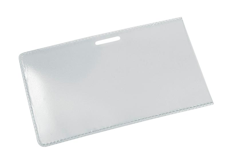 Jmenovka, identifikátor PLM, kapsa, vkládaní z boční strany, 50ks v balení, vnější rozměr 90x57mm