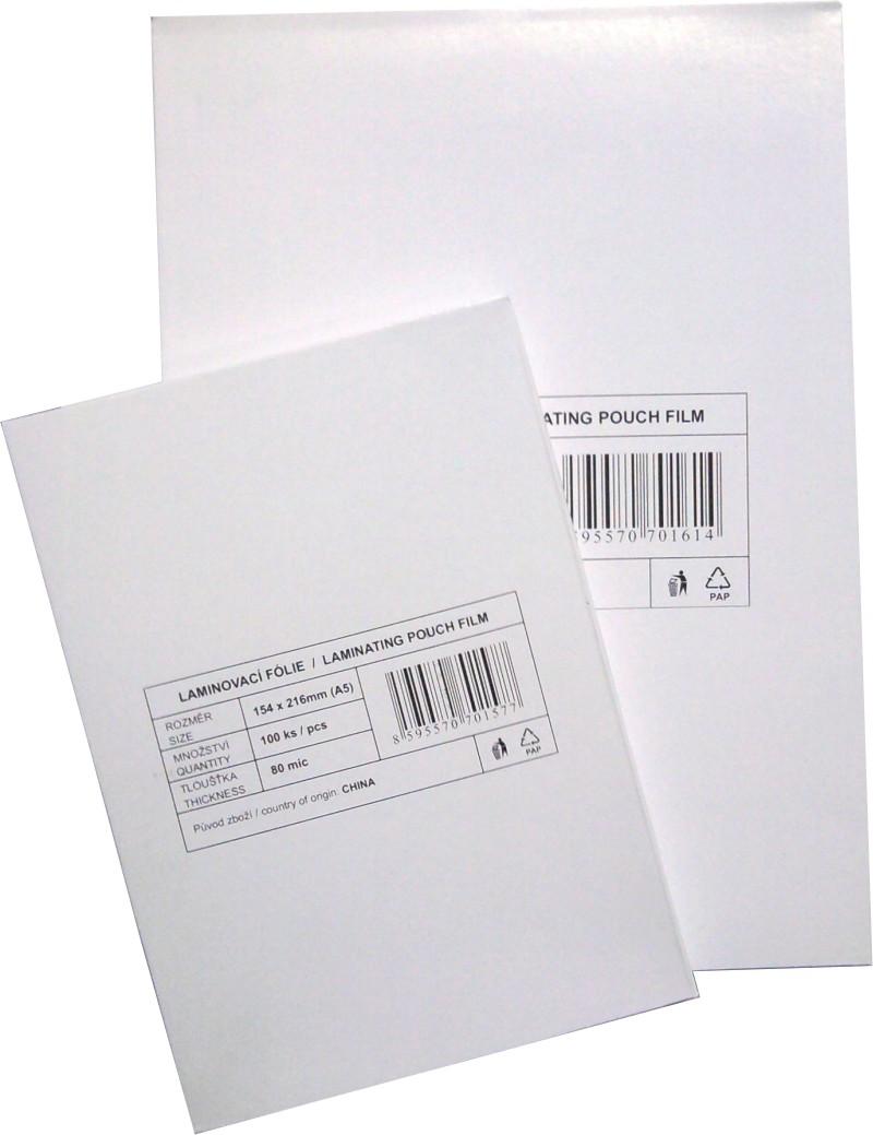laminovací fólie Standard A2/080mic. 100ks