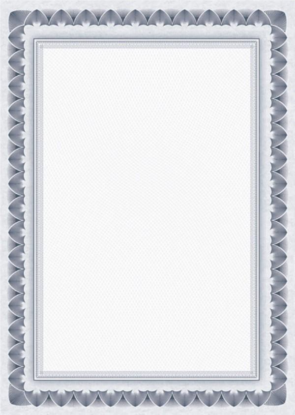 Galeria Papieru diplomy Arkády modrá 170g, 25ks