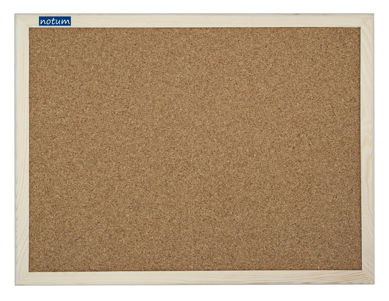 Korková tabule NOTUM K 40x60cm dřevěný rám, 10ks