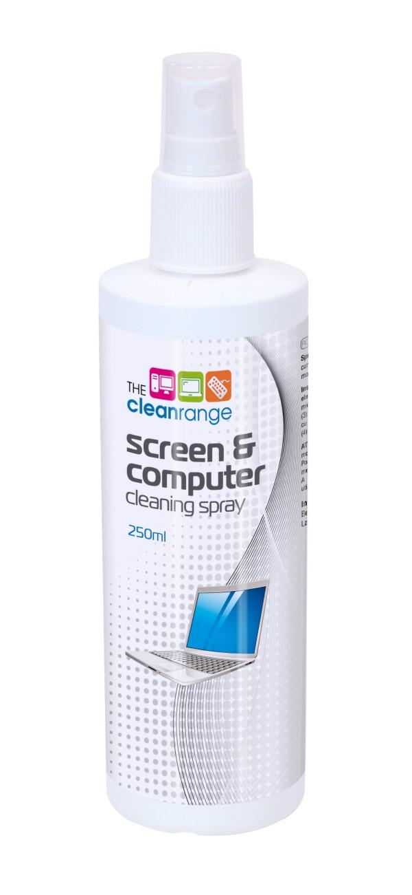Čistící roztok na monitory a PC, 250 ml