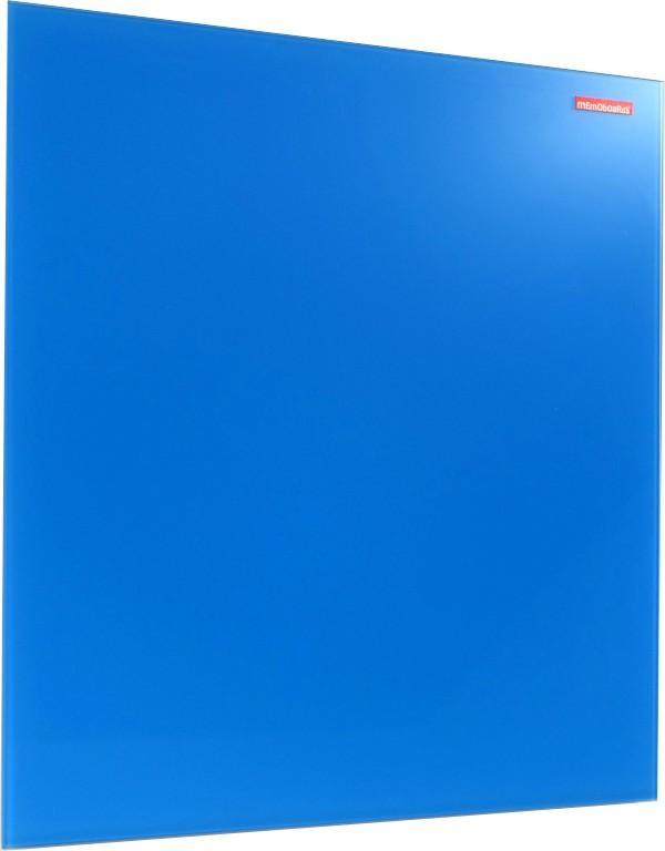 Skleněná magnetická tabule modrá 45x45cm