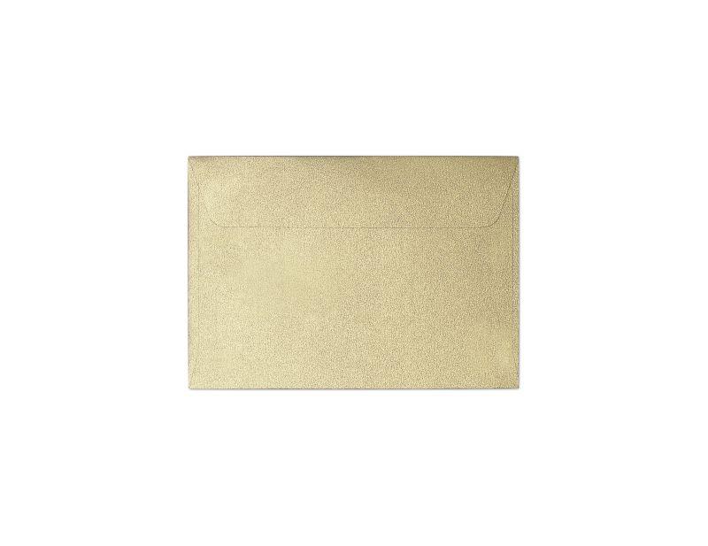 Galeria Papieru obálky B7 Pearl zlatá 120g, 10ks