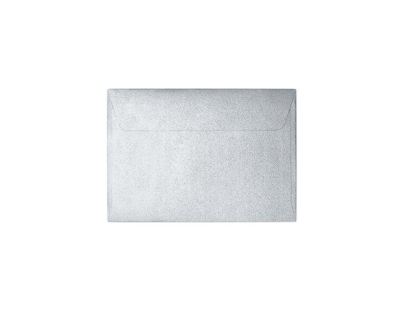 Galeria Papieru obálky B7 Pearl stříbrná 120g, 10ks