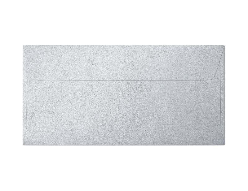 Galeria Papieru obálky DL Pearl stříbrná 120g, 10ks