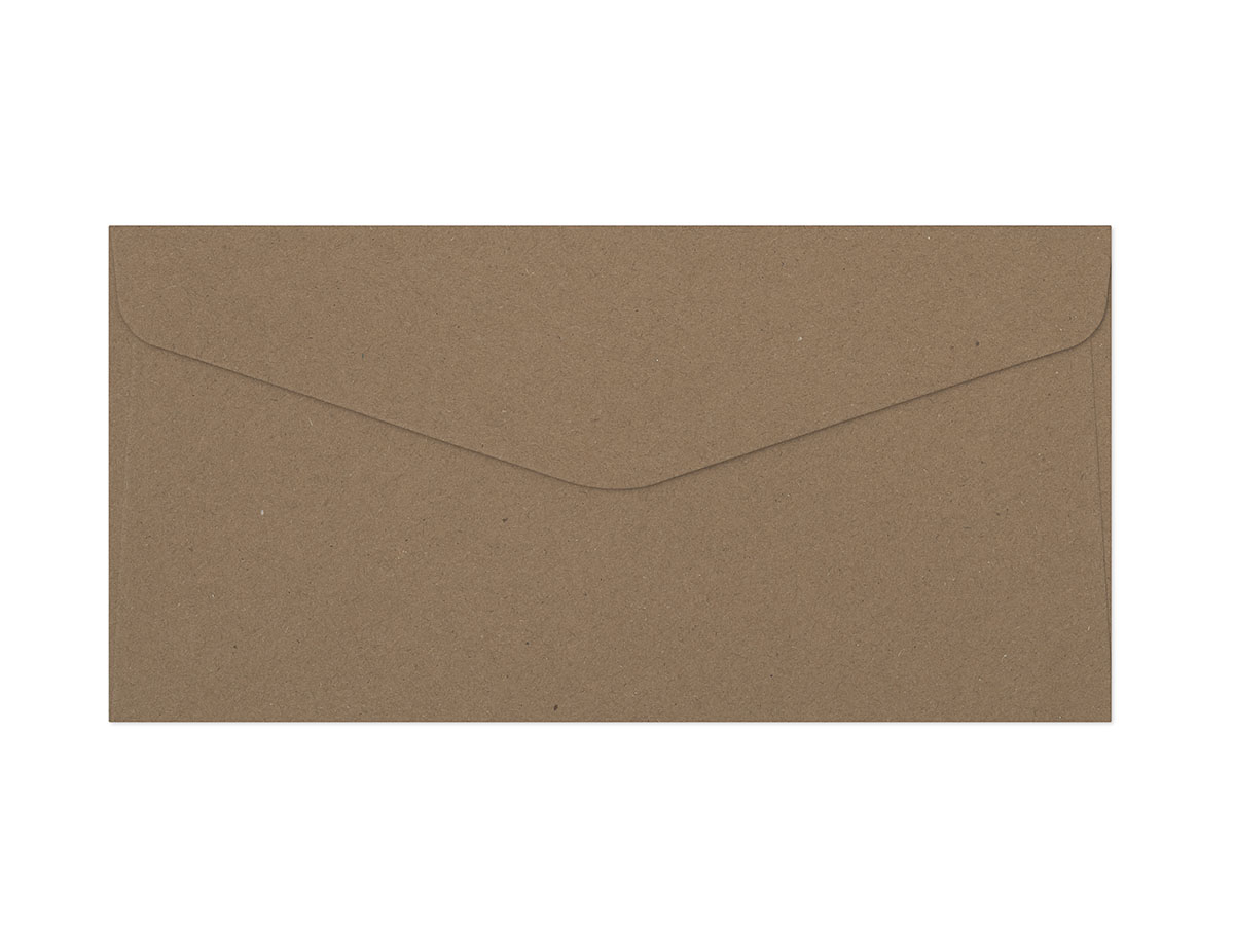 Galeria Papieru obálky DL Kraft tmavě béžová 120g, 10ks
