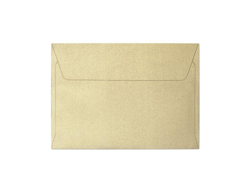 Galeria Papieru obálky C6 Pearl zlatá 120g, 10ks