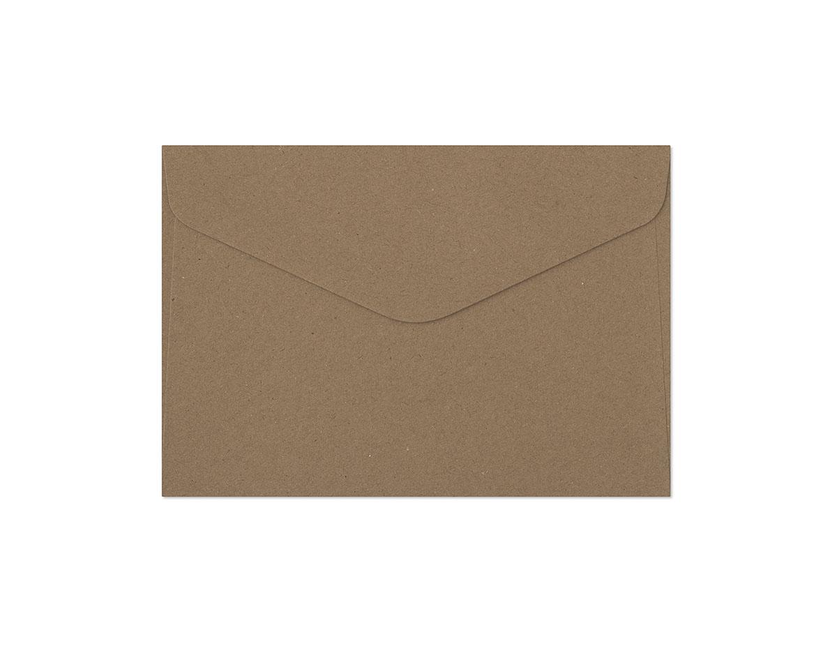Galeria Papieru obálky C6 Kraft tmavě béžová 120g, 10ks
