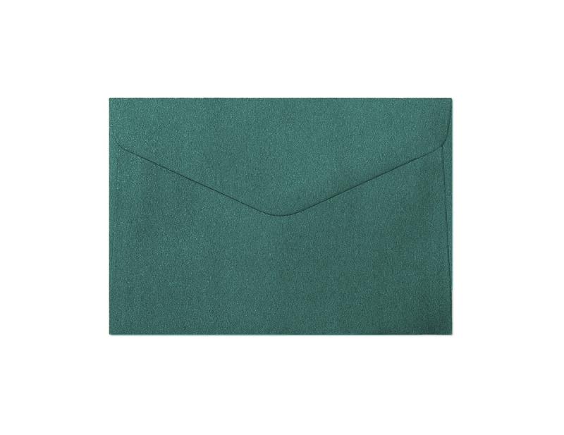 Galeria Papieru obálky C6 Pearl zelená 150g, 10ks