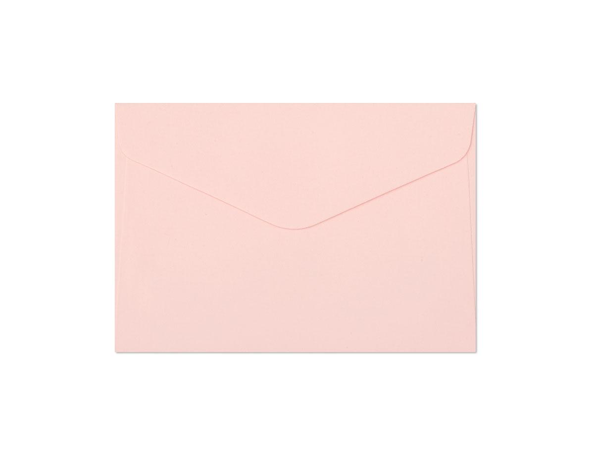 Galeria Papieru obálky C6 Hladký růžová 130g, 10ks