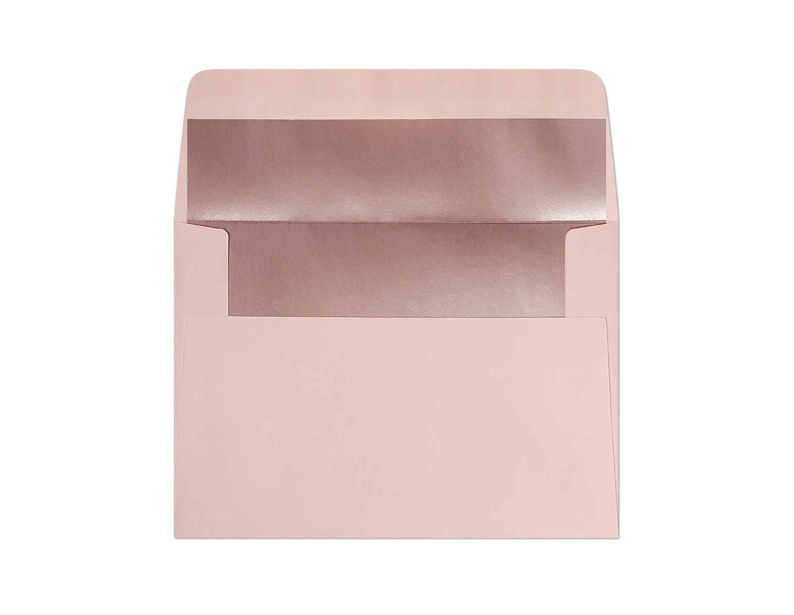 Galeria Papieru obálky C6 s metalickým vnitřkem růžová 120g, 10ks