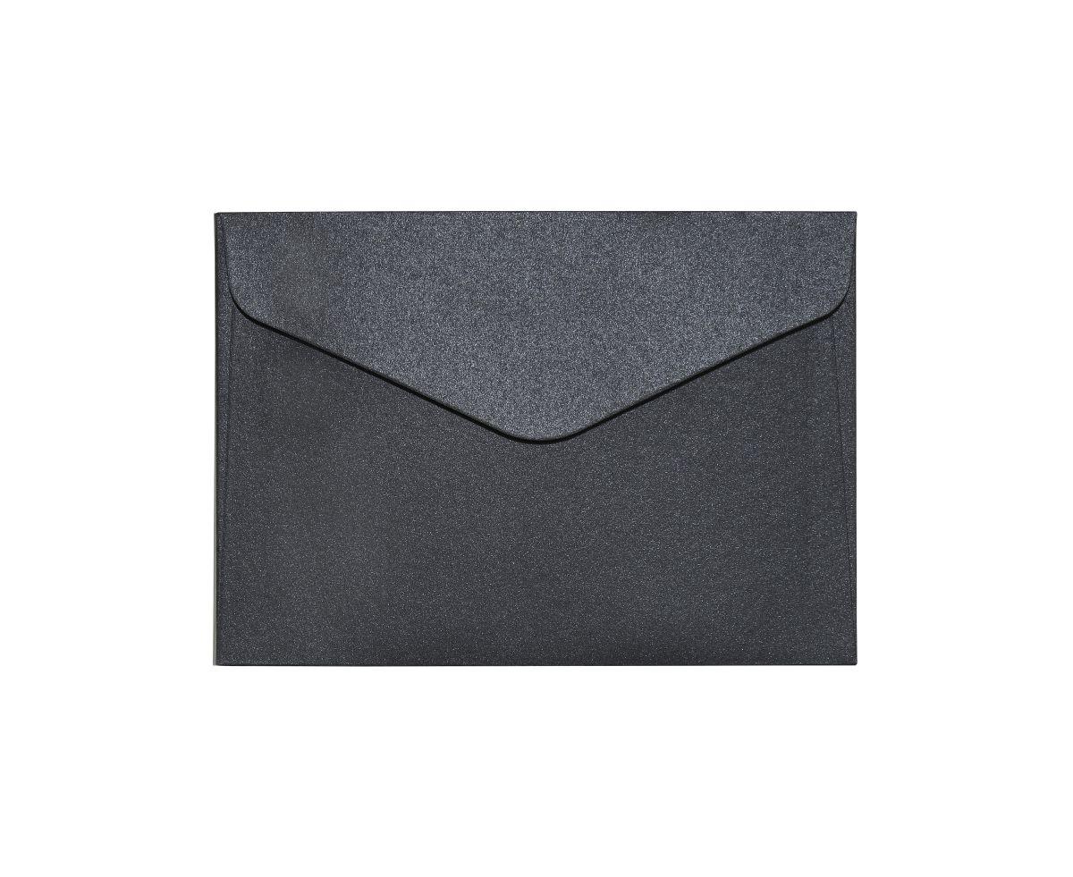 Galeria Papieru obálky C6 Pearl černá 150g, 10ks
