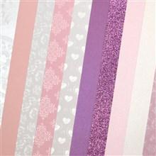 Galeria Papieru sada Růžové tóny 210-250g, 10ks