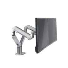 Dvouramenný držák monitoru metalická