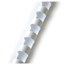 plastový hřbet 8mm bílá 100ks