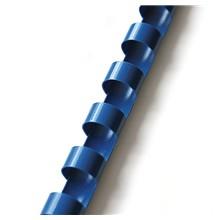 plastový hřbet 6mm modrá 100ks