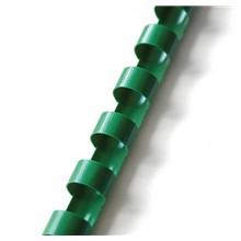 plastový hřbet 6mm zelená 100ks
