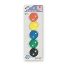 sada magnetů WF mix průměr 30mm, 5ks