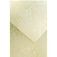 Galeria Papieru ozdobný papír Růže ivory 250g, 20ks