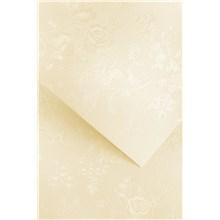 Galeria Papieru ozdobný papír Floral ivory 220g, 20ks