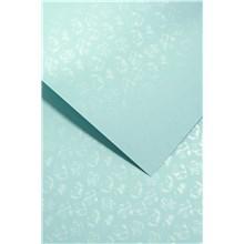 Galeria Papieru ozdobný papír Malé růže bledě modrá 220g, 20ks