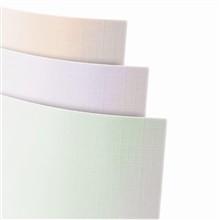 Ozdobný papír Plátno Perleťově zelená 230g, 20ks