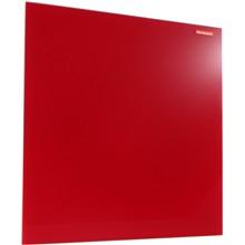 Skleněná magnetická tabule červená 40x60cm