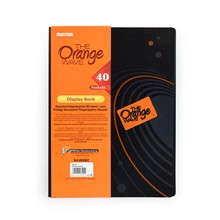 Desky na spisy ORANGE DISPLAY BOOK, A4
