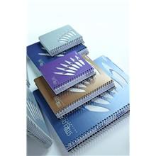 Pozn. blok A5, 150listů, linka, STEEL CLASStmavě modrá