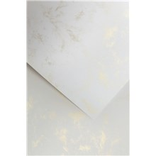 Galeria Papieru ozdobný papír Mramor zlatá 220g, 20ks