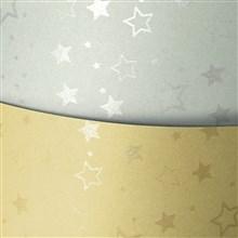 Galeria Papieru ozdobný papír Stars 220g, 20ks