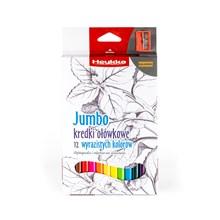 Heykka pastelky Jumbo, 12 barev