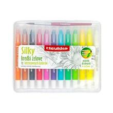Heykka gelové voskovky Silky, 12 barev