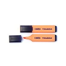 Heykka zvýrazňovač Linea pastel světle oranžová, 10ks