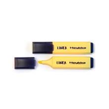 Heykka zvýrazňovač Linea pastel žlutá, 10ks