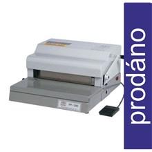 BAZAR_elektrický děrovací a ruční vázací stroj Rilecart FP 340