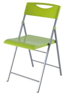 Skládací židle SMILE světle zelená 2ks