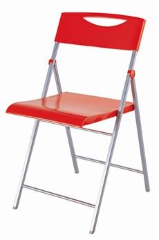Skládací židle SMILE červená 2ks