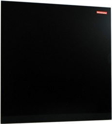 Skleněná magnetická tabule černá 45x45cm