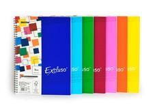 Poznámkový blok A4 EXCLUSO, čtverečkovaný, 72 listů