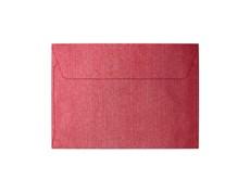 obálky C6 Pearl červená 120g, 10ks