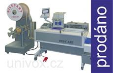 BAZAR_poloautomatický vazácí stroj Rilecart WB-450 DEMO