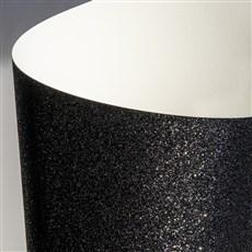Galeria Papieru třpytivý papír černá 210g, 5ks