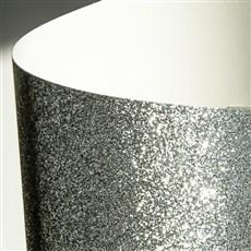 Galeria Papieru třpytivý papír stříbrná 210g, 5ks