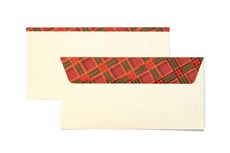 Galeria Papieru obálky DL Káro 120g, 10ks