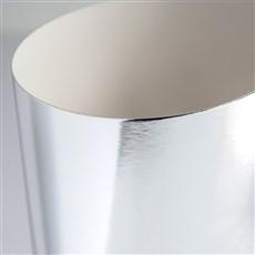 Galeria Papieru Zrcadlový karton stříbrná 300g, 10ks