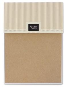 Kraftový samolepicí papír A5, 12ks